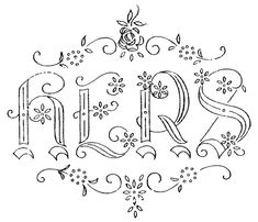 thousands of free embroidery patterns  W 730 - serial nº 1947 eb by mmaammbr, via Flickr