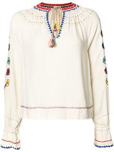 Ulla Johnson блузка с вышивкой