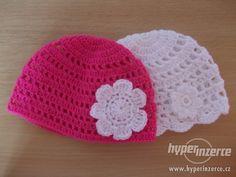 Háčkované dirkované a klasické čepičky Crochet Baby Hat Patterns, Crochet Baby Hats, Beanie, Beanies, Baby Things, Sombreros, Beret