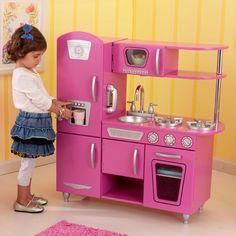 Bubblegum Vintage Play Kitchen