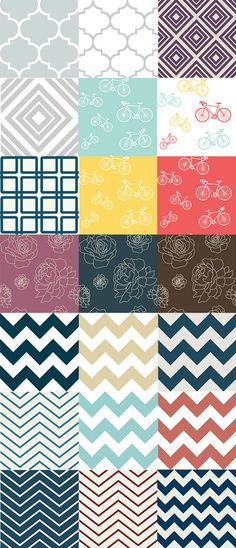 More Patterns At Spoonflower