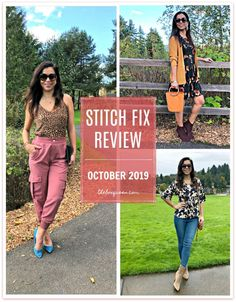 STITCH FIX REVIEW OCTOBER 2019. I loved styling my October Stitch Fix pieces in fall outfits. This box was full of the seasons trends, cute prints, and pretty fall styles. Click through to read the full review. #fallstyle #outfitinspiration #outfitideas Fall Styles, Stitch Fix Outfits, Knitted Tank Top, Super Skinny Jeans, Knit Dress, Fall Outfits, Style Me, Autumn Fashion, October