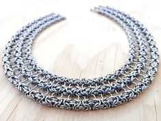 Byzantine Layer Necklace Stainless Steel