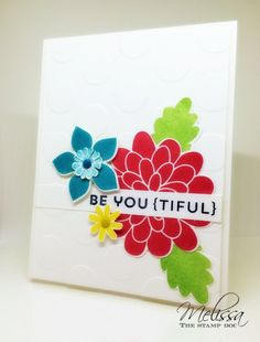 Stylin' Stampin' INKSpiration Blog Hop:  Anything Flowers