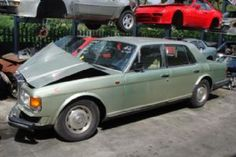 images of scrap rolls royces and bentleys | ROLLS ROYCE