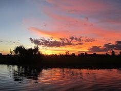 awesome Yellow water sunrise, Kakadu National Park