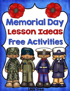 LMN Tree: Memorial Day: Free Resources and Activities Spring Activities, Teaching Activities, Holiday Activities, Preschool Learning, Educational Activities, Preschool Activities, Kindergarten Themes, Teaching Strategies, Holiday Crafts