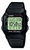#10: Casio Collection  Reloj Hombre Digital con Correa de Resina  W-800H-1AVES