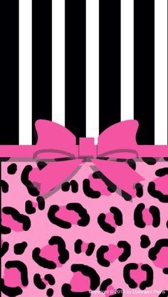 Black and white stripes! One bow. Pink cheetah prints!