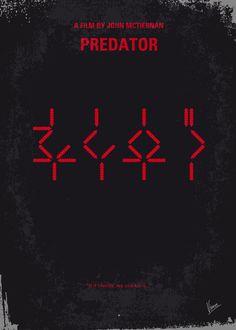 My Predator Movie Poster  Art Print