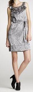 J Crew Silk Sirrah Crinkled Sleeveless Dress Sz 12 Silver Graphite Gray for sale online Winter Wedding Outfits, Dresses For Work, Formal Dresses, Crinkles, J Crew, Silk, Grey, Shopping, Fashion