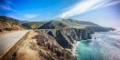The Ultimate Weekend Road Trip: San Francisco To Big Sur San Francisco, San Diego, Big Sur Camping, Big Sur Coastline, Great Places, Places To Visit, Las Vegas, California Travel, California Coast