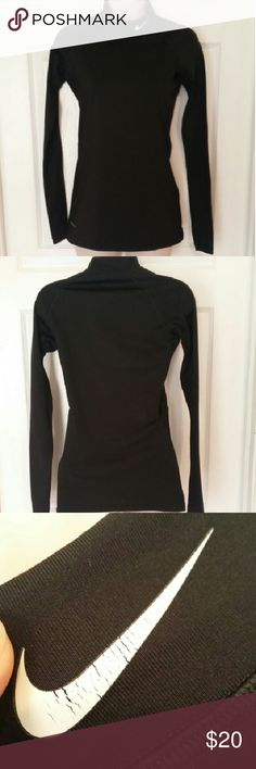 Nike pro dri-fit long sleeve Some cracking in the Nike logo but otherwise in great condition!! Nike Tops Tees - Long Sleeve