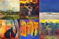 Artificial Intelligence Invents New Styles of Art the AI generation An artificial intelligence has been developed that produces images Value Painting, Painting Styles, Zero The Hero, Different Art Styles, Royal College Of Art, See Images, London Art, Create Image
