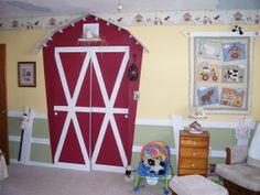 Love this barnyard nursery if we have a boy