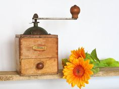Old Coffee Grinder Vintage ODAX Made by PEUGEOT