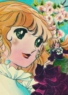 Fostine by Chieko Hara color sleeve ✤ || フォスティーヌ • concept art, #shojo clasico #historieta #anime #cartoni #animati #comics #cartoon from the art Chieko Hara|| ✤ #Fostine, #Faustine, #Luna, #Lorena. 1978 >> http://tubiblioteca12.wix.com/sololectores