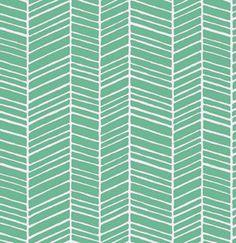 Herringbone Turquoise Collectie: True Colors Joel Dewberry