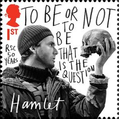 Royal Shakespeare Company stamps _ Marion Deuchars