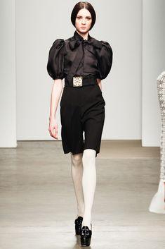 Giulietta Fall 2012 Ready-to-Wear Fashion Show