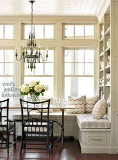 adorable kitchen banquette a built in storage wall elevates this traditional style banquette from breakfast nook to multi purpose corner - Kitchen Nook