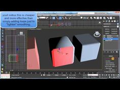 3ds max tricks - Edit Normals to control smoothing and lighting - YouTube
