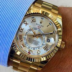 SKY-DWELLER closeup Ref 326938 | http://ift.tt/2cBdL3X shares Rolex Watches collection #Get #men #rolex #watches #fashion