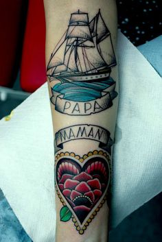 love traditional tattoos