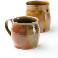 Cups by Beidler Pottery. American Made. See the designer's work at the 2016 American Made Show, Washington DC. January 15-17, 2016. americanmadeshow.com #americanmadeshow, #americanmade, #pottery, #ceramic, #cup, #mug