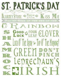 Fun, #Free St. Patrick's Day Printable  @madefrompinterest.net