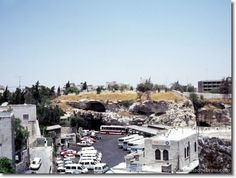 golgatha looking from Damascus gate