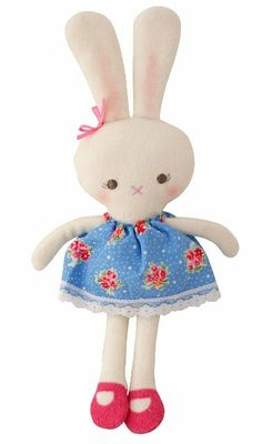 Divine woodland bunny girl by alimrose designs little boo teek betty bunny rattle by alimrose designs the adorable betty comes complete with a beautiful floral negle Choice Image