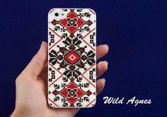 iphone 5 case iphone 5 cover new iphone 5 skin Ukrainian Folk Pattern. $15.90, via Etsy.