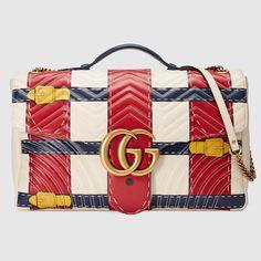 5c1017e7cfb GG Marmont Trompe l oeil maxi shoulder bag Gucci Shoulder Bag