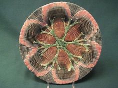 Antique Etruscan Majolica Shell and Seaweed Plate by Griffin, Smith, from storeyandsonantiques on Ruby Lane