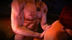Witcher 2 Flotsamwald Triss Merigold sex scene