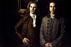 INTERVIEW WITH THE VAMPIRE ‹ Michele Burke / Louis (Brad Pitt) and Lestat (Tom Cruise), the murder husbands