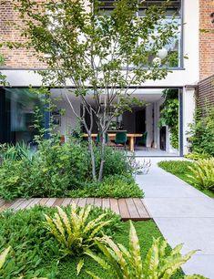 Small Space Gardening, Garden Spaces, Small Gardens, Outdoor Gardens, Modern Gardens, Tropical Gardens, Urban Garden Design, Cottage Garden Design, Contemporary Garden Design
