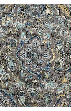 BosphorusBD06 Pointelle Paisley Rug Colors For Living RoomLiving