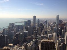 Chicago - Panorama dal John Hancock Observatory
