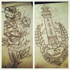 Getting organised for a big nautical sleeve... :)