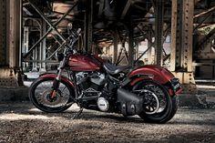 BL Harley Davidson Parts, Vintage Harley Davidson, Harley Davidson Motorcycles, Build Your Own Bike, Softail Bobber, Black Headlights, Car Accessories For Guys, Bike Builder, California Ca