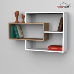 trendy home library shelves cabinets Bookshelf Design, Wall Shelves Design, Wood Shelves, Wall Design, Floating Shelves, Library Shelves, Home Furniture, Furniture Design, Etagere Design