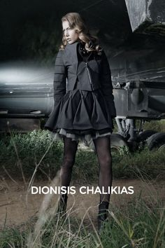 Fashion Editorial Designer: Dionisis Chalikias Photographer: Dimitris Petratzas Model: Talita by New Models Agency Hair & Make-up: Antonis Spathas  http://dionisischalikias.tumblr.com