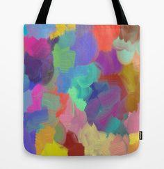 SPLAT  Tote Bag 16x16 by ArtByAnneManera on Etsy