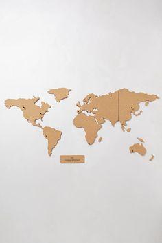 Corkboard Map $48.00