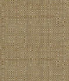 Pindler & Pindler Raffia Natural For pillow with applique?