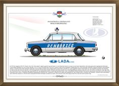 Lada 2101 Hungarian Police car Police Cars, Hungary, Vehicles, Pictures, Photos, Car, Grimm, Vehicle, Tools