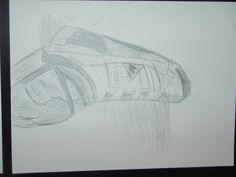 waarnemingstekenen naar eigen schoeisel potlood RDebruyne