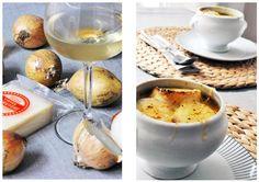 Cibulová polévka Kitchen Stories, Camembert Cheese, Dairy, Food, Essen, Meals, Yemek, Eten